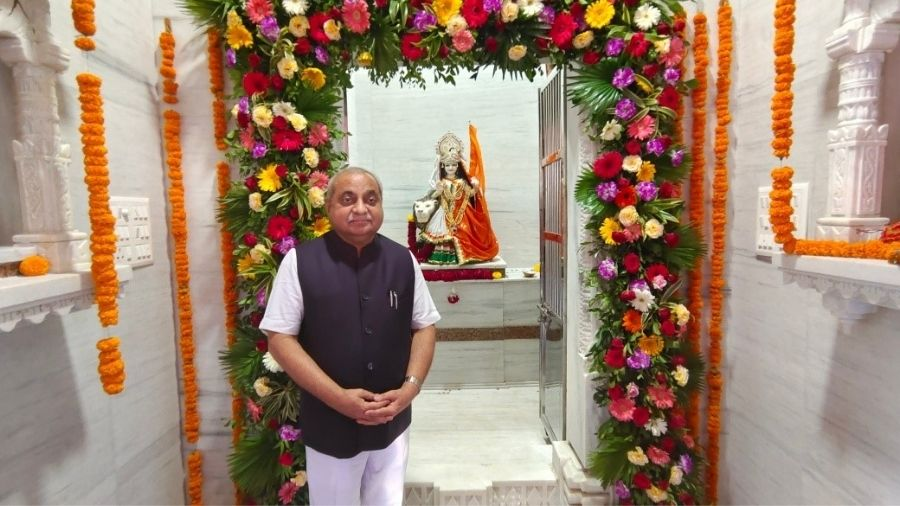Gujarat Deputy Chief Minister Nitin Patel.