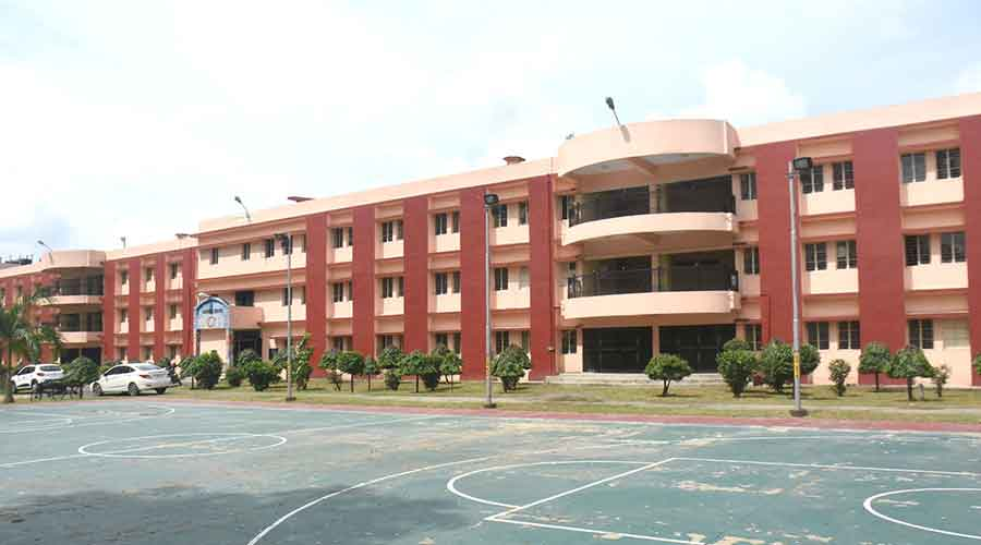 One of the hostels (Sapphire Hostel) of IIT (ISM) in Dhanbad on Monday.