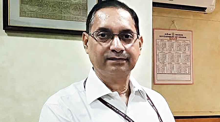 Disinvestment Secretary Tuhin Kanta Pandey