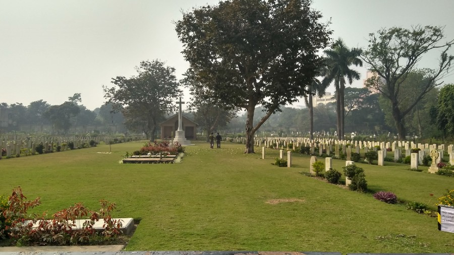 The Commonwealth War Graves in the Bhowanipore Cemetery