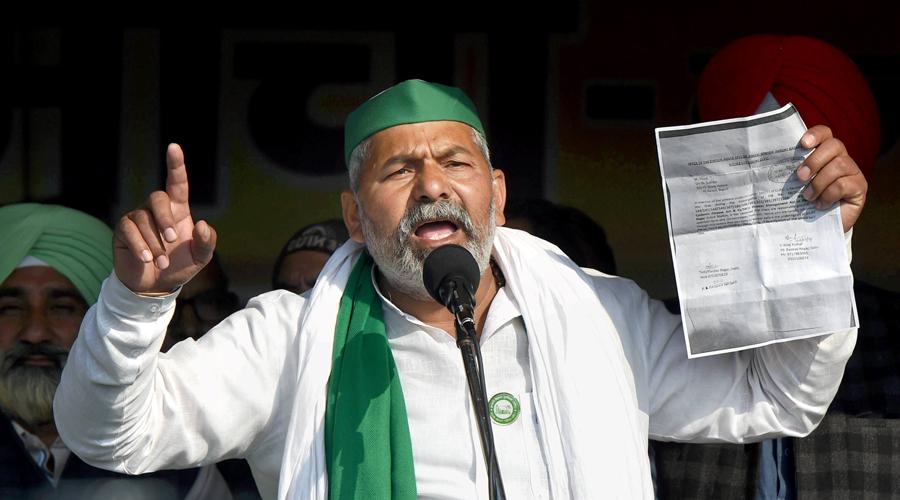Tractors to follow Modi in Bengal, says Rakesh Tikait