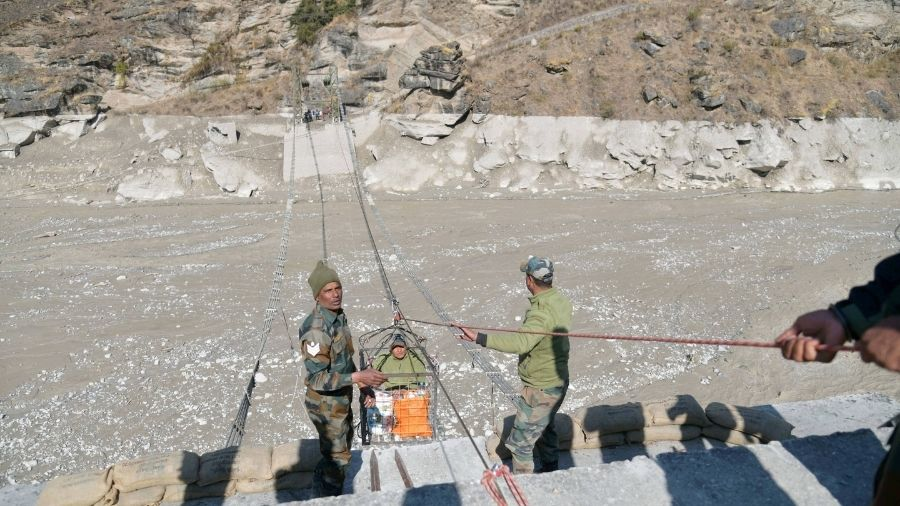 As per the figures issued by the state control room, 14 workers from Jharkhand are missing since Sunday's glacier break that triggered an avalanche and flash floods, washing away a dam and hydro power plant that was being constructed by the National Thermal Power Corporation (NTPC) in Tapovan.