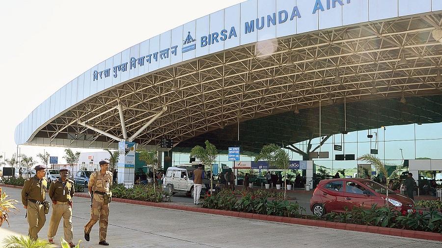 Birsa Munda Airport in Ranchi.