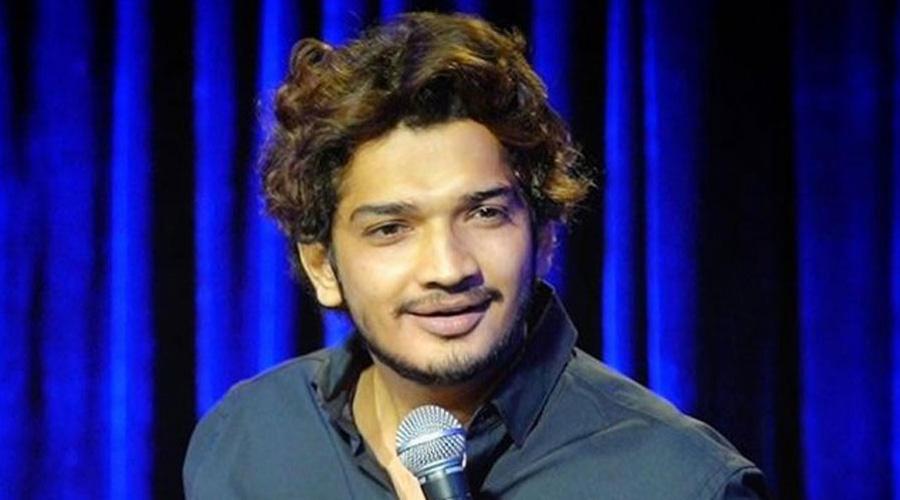 Comedian Munawar Faruqui.