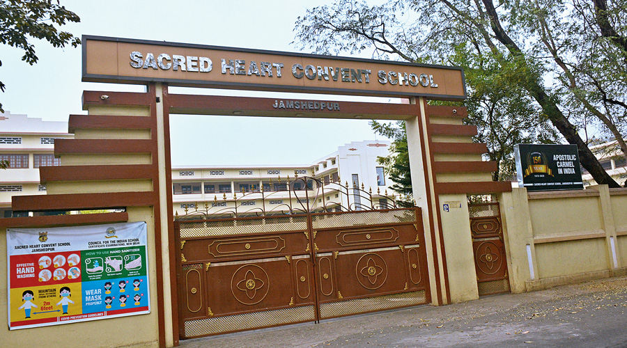 The Sacred Heart Convent in Jamshedpur.
