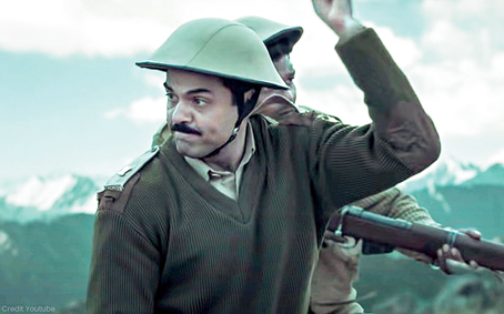 Abhay Deol in 1962: The War in the Hills, that streams on Disney+Hotstar from February 26