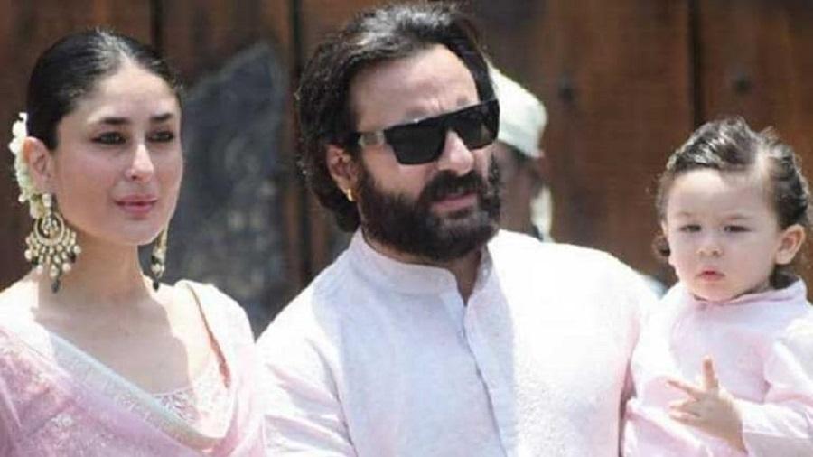 Kareena Kapoor Khan and Saif Ali Kha