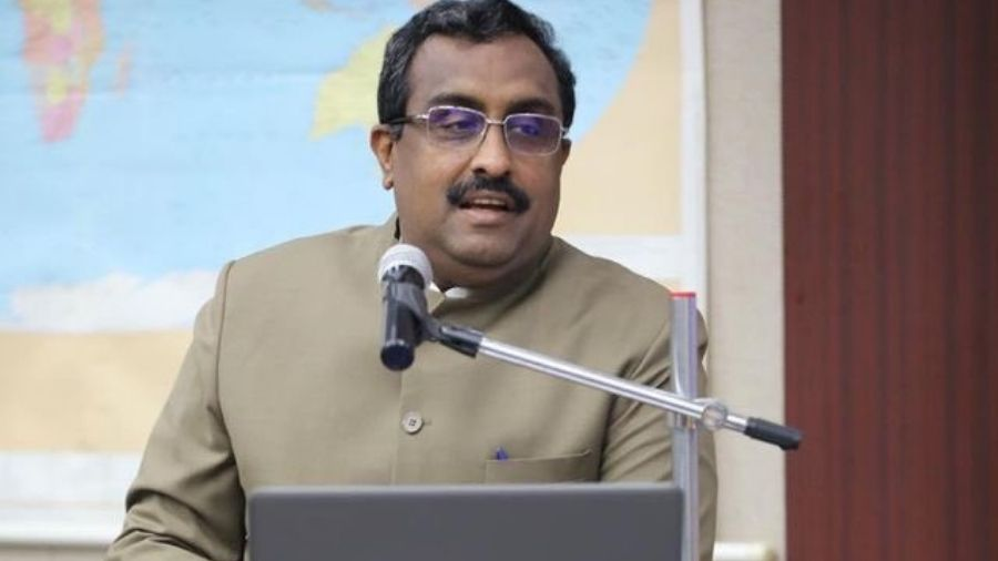 Ram Madhav.