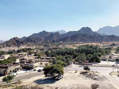 A scenic point at Hatta