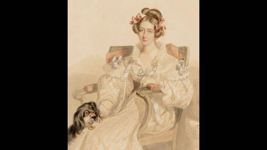 Portrait of Emily Eden, 1835.