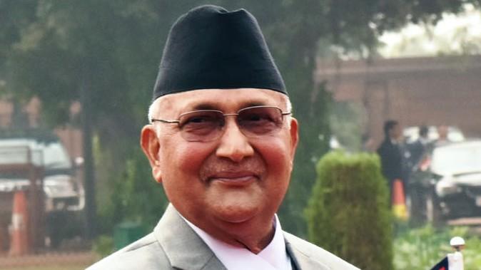 Nepal's Prime Minister K.P. Sharma Oli