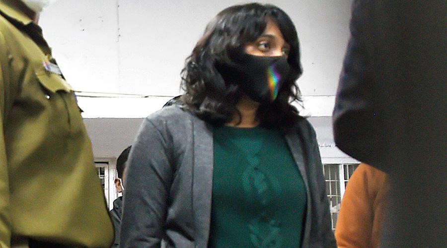 Disha Ravi in New Delhi.