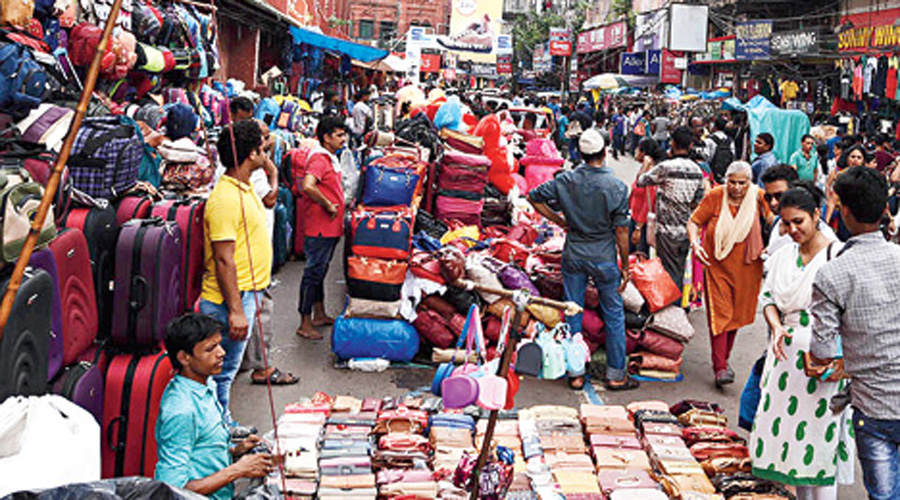 The traders said they had hoped to explain to the commissioner why they were protesting and how encroachment of roads and footpaths was affecting their business.