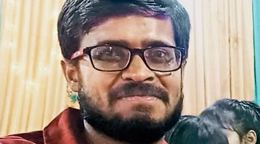 Wounds on held Dalit activist