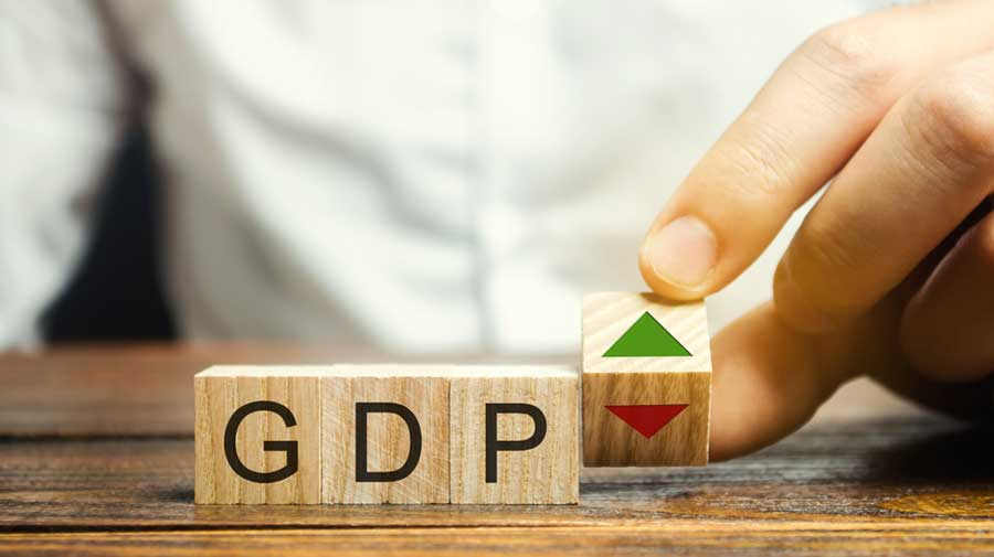 Real GDP growth in 2019-20 was 4 per cent. Nominal GDP — which is measured at current prices and, therefore, factors in the effects of inflation — will contract by 3.8 per cent against the earlier forecast of minus 4.2 per cent.
