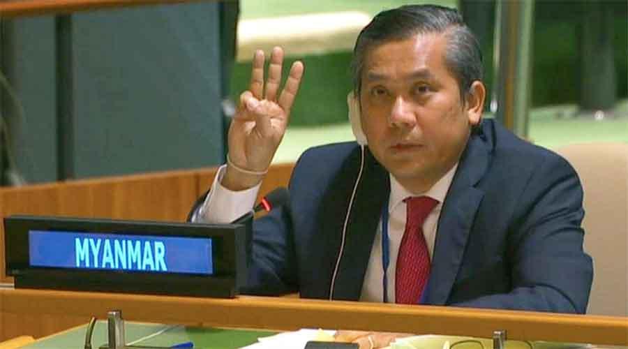 UN Ambassador Kyaw Moe Tun
