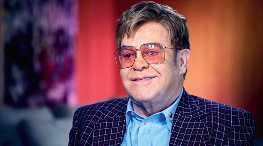 Singer Elton John.