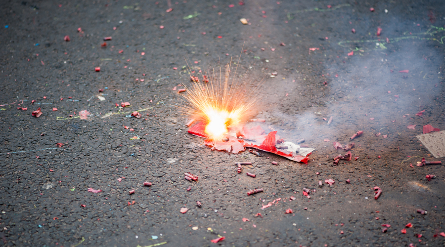 Calcutta High Court, before Diwali, had ordered a blanket ban on bursting of fireworks during the festive season.