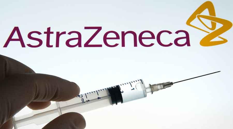An AstraZeneca Covid-19 vaccine