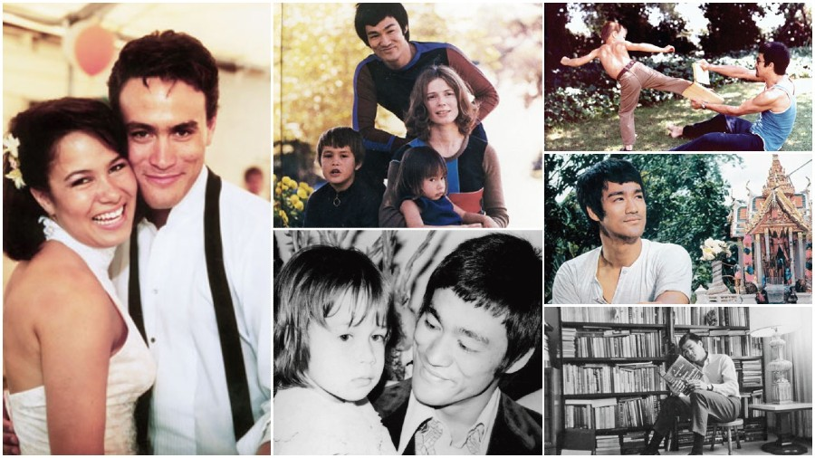 Moments from the Bruce Lee family album