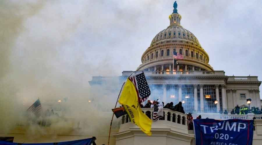 Authorities have said Right-wing extremists were part of a mob of supporters of former President Donald Trump stormed the Capitol