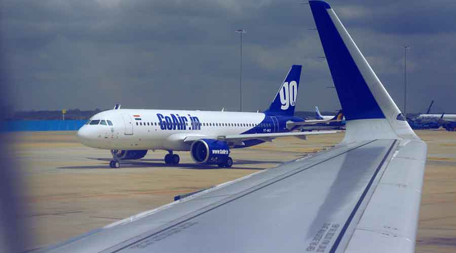 GoAir operates a fleet of 55 aircraft as on March 31, 2021, all of which are Airbus A320 aircraft.