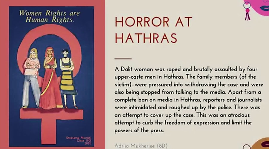 A letter by a Modern High student on the Hathras  gang rape and murder