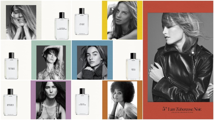 The fragrances & The women