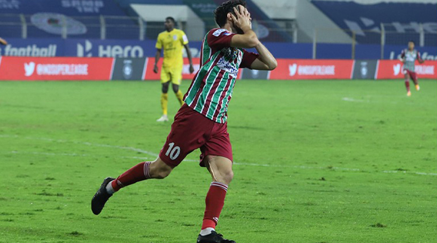 After a barren first half which was dominated by Mumbai City, the deadlock was broken in the 69th minute.