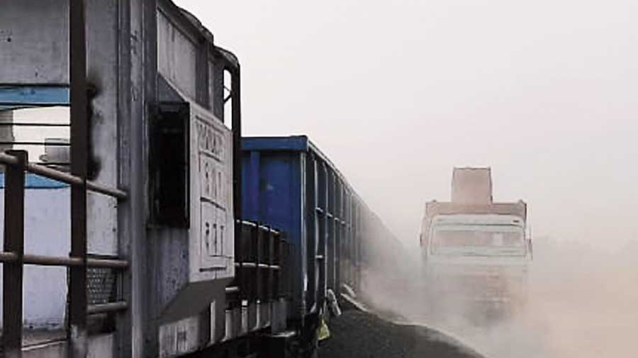 The Inland Container Depot in New Jalpaiguri