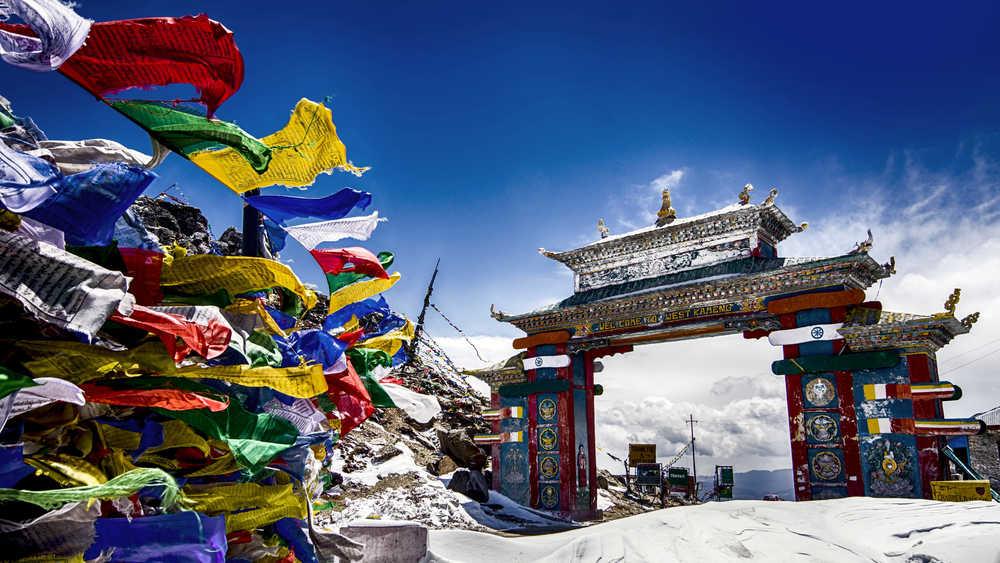 Tawang Monastery, Arunachal Pradesh.