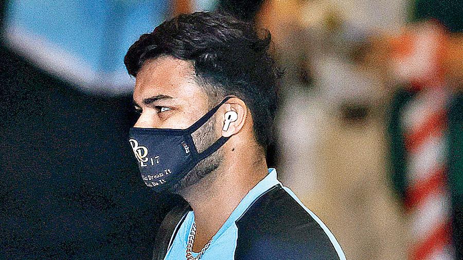 Rishabh Pant in Sydney.