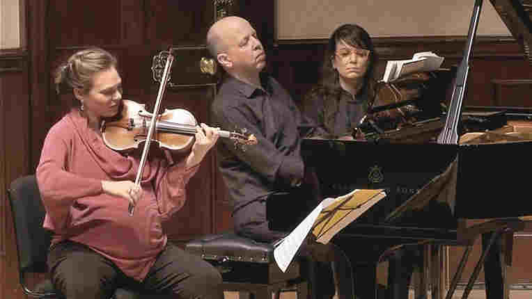 Live-streamed performance by Tamsin Waley-Cohen and Huw Watkins at the Wigmore Hall, London.