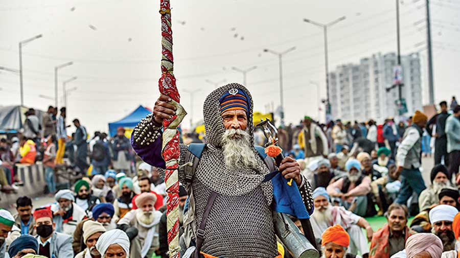 The winter of 2020-21 has seen a massive sit-in on Delhi's border led by Sikh farmers demanding the repeal of the three agriculture Acts rushed through Parliament by the Central government in September.