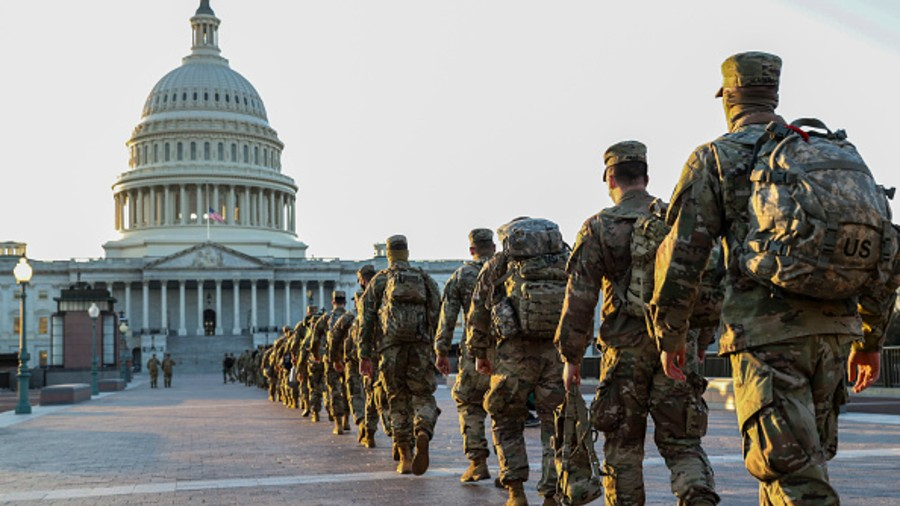National Guard deployed at the US Capitol