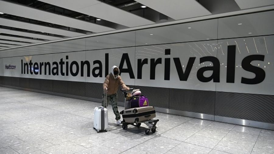 On arrival, passengers will have to furnish the address where they will be required to quarantine themselves for 10 days, UK authorities said.