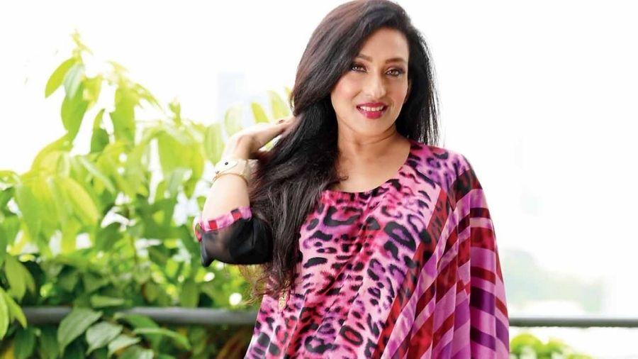 Actress Rituparna Sengupta.