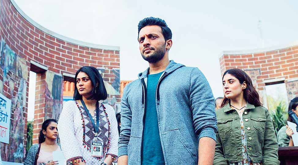 A bench comprising justices Ashok Bhushan, R Subhash Reddy and M R Shah was hearing as many as three separate petitions of Zafar, Amazon Prime India head Aparna Purohit, producer Himanshu Mehra, the show's writer Gaurav Solanki and actor Mohammed Zeeshan Ayyub.