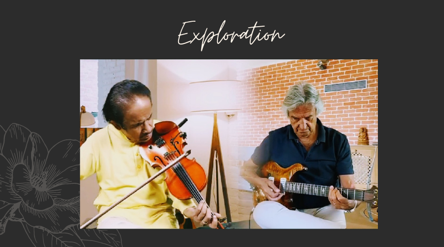 Exploration: L Subramaniam and John McLaughlin