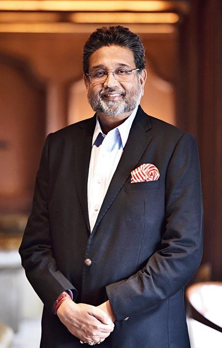 Harshavardhan Neotia, chairman, Ambuja Neotia Group.