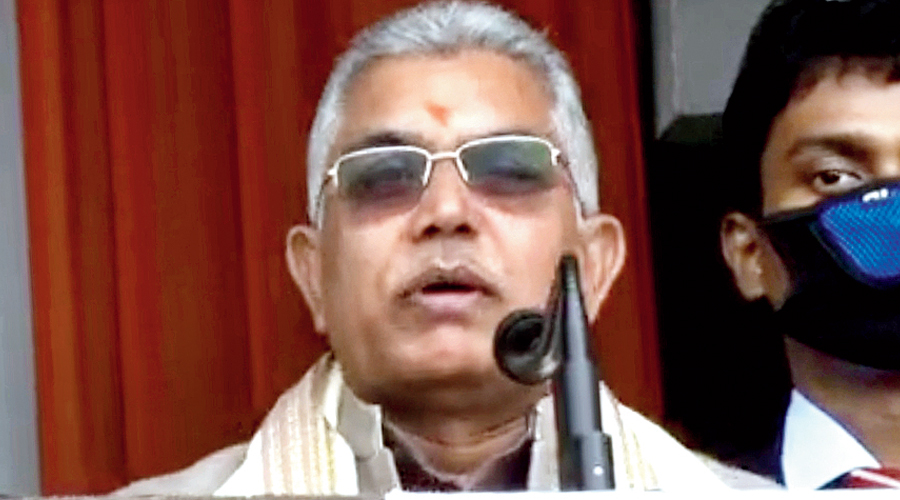 Bengal BJP president and MP Dilip Ghosh.