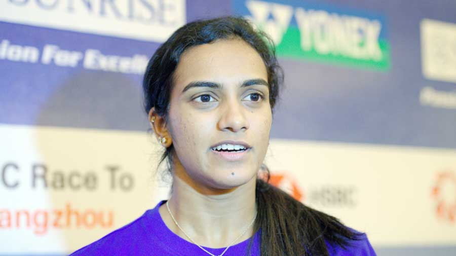 The 25-year-old Indian, who didn't drop a game in the last four matches this week, failed to summon her 'A' game under pressure as Marin came up trumps to claim her third title of the year.