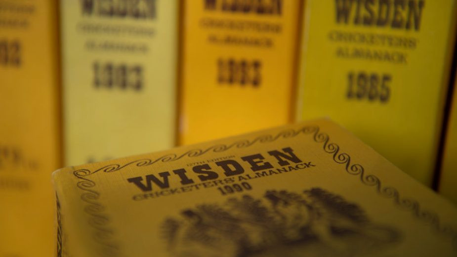 The cricketers' bible, rich in statistics and match reports, is now brought out by Bloomsbury — Wisden 2020 cost £55.