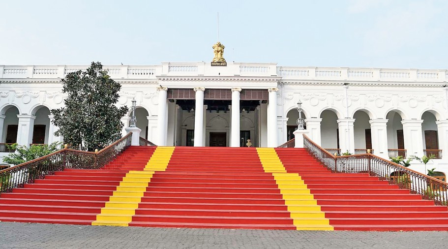 National Library in Alipore in Calcutta