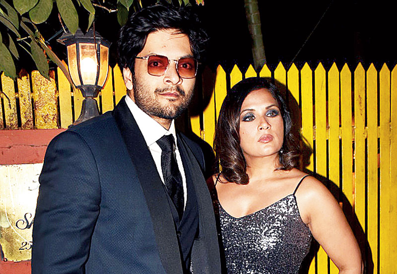Richa Chadda and Ali Fazal