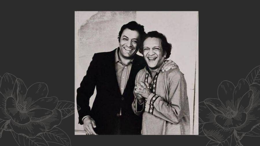 Zubin Mehta with Ravi Shankar.
