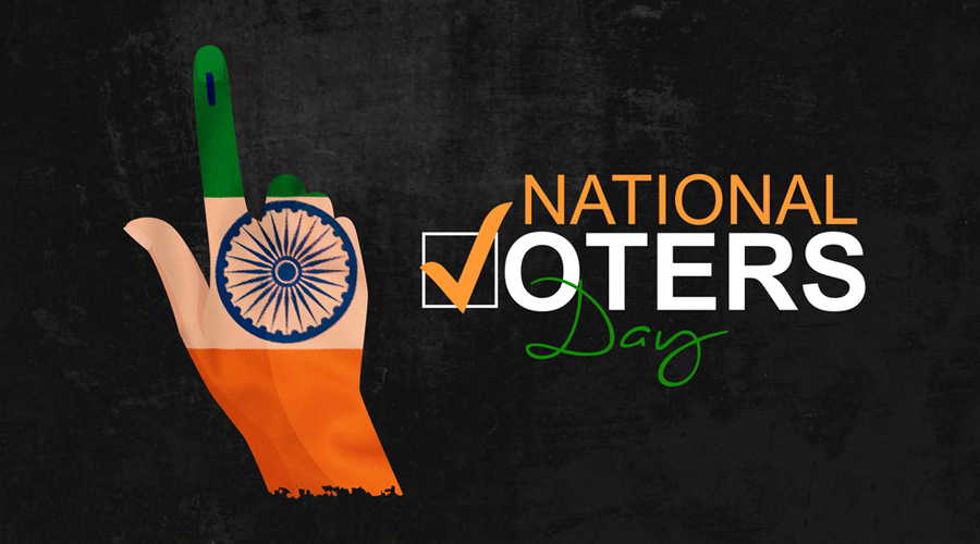 Government of India has decided to celebrate January 25 every year as National Voters' Day, to encourage more young voters to take part in the process.