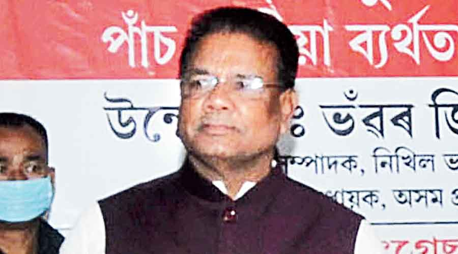 Assam Congress chief Ripun Bora