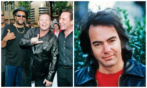 (L-R) UB40, Neil Diamond
