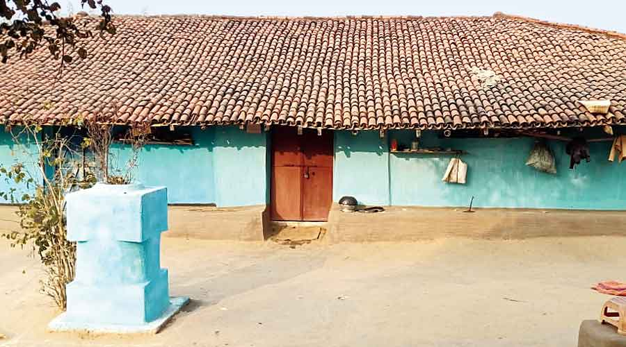 Chutni's house in Jharkhand's Seraikela-Kharswan district